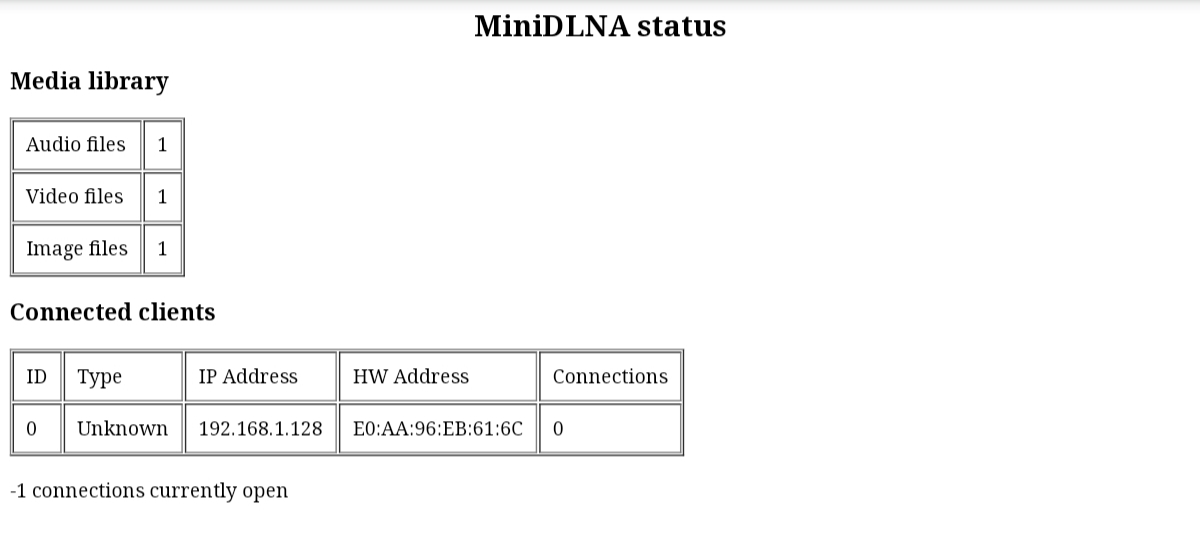 DD-WRT Forum :: View topic - R7000 and MiniDlna