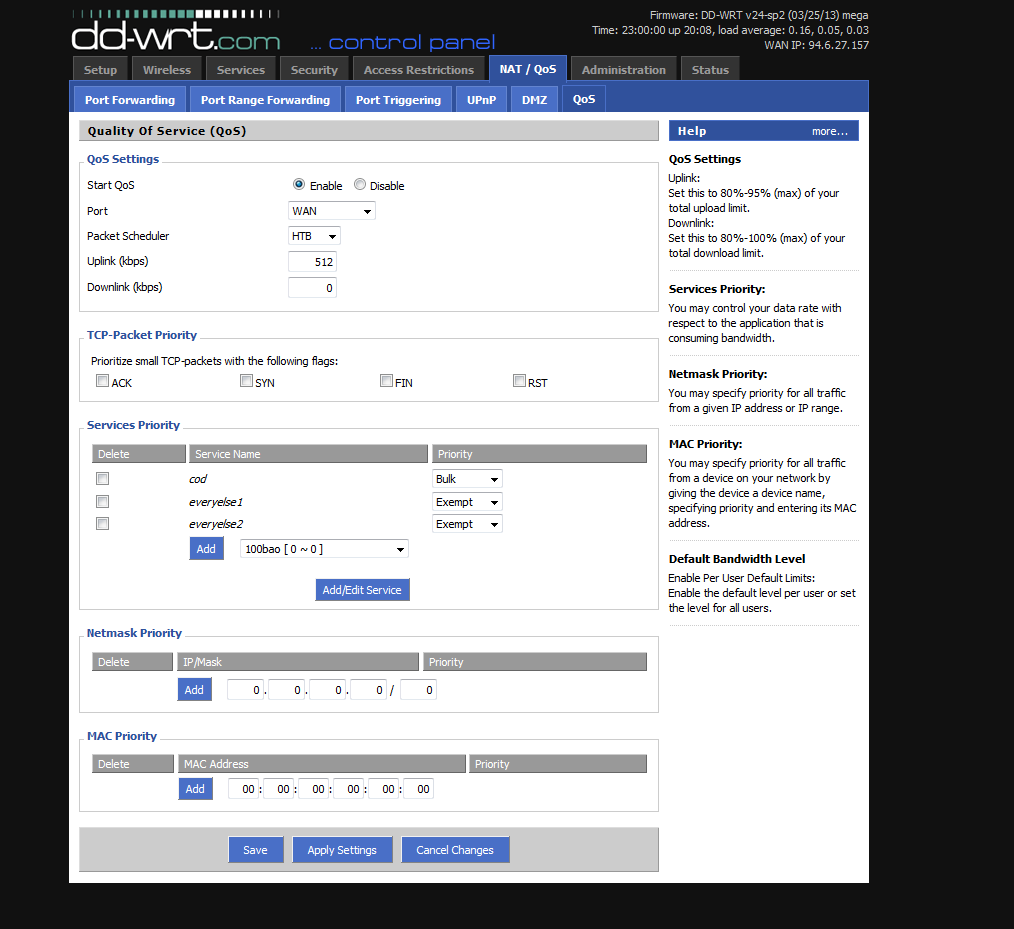 DD-WRT Forum :: View topic - how to limit upload speed on xbox?