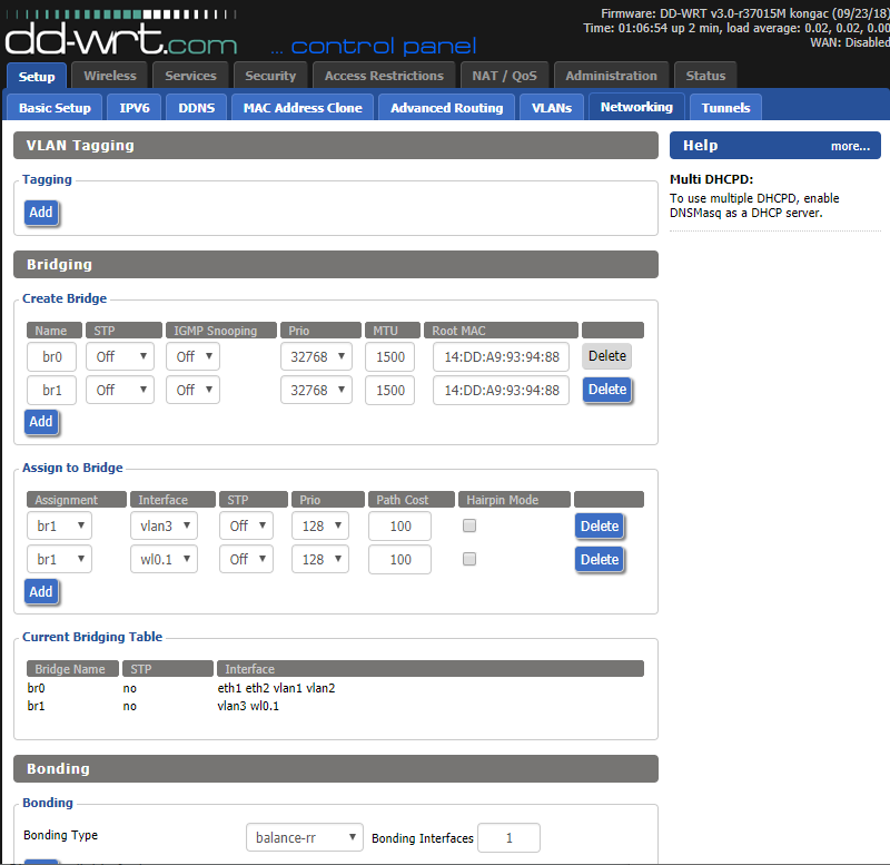 DD-WRT Forum :: View topic - New <Kong> Test Build 37985M 12