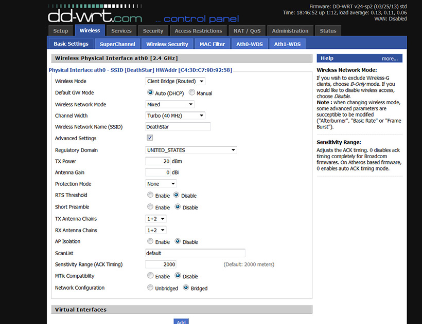 DD-WRT Forum :: View topic - Media Servers through Wireless Client
