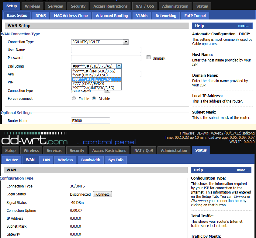 DD-WRT Forum :: View topic - Using a Clear Spot as a USB modem with