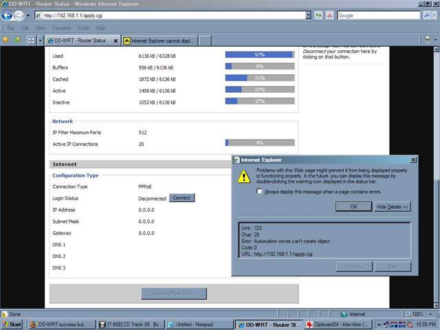DD-WRT Forum :: View topic - DD-WRT interface does not let DSL modem