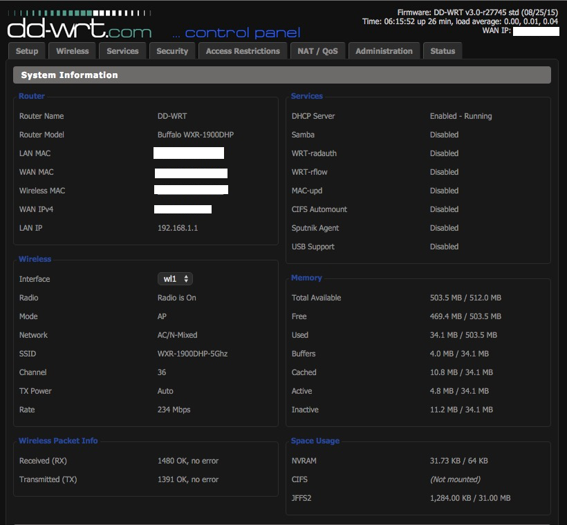 DD-WRT Forum :: View topic - Buffalo WXR-1900DHP