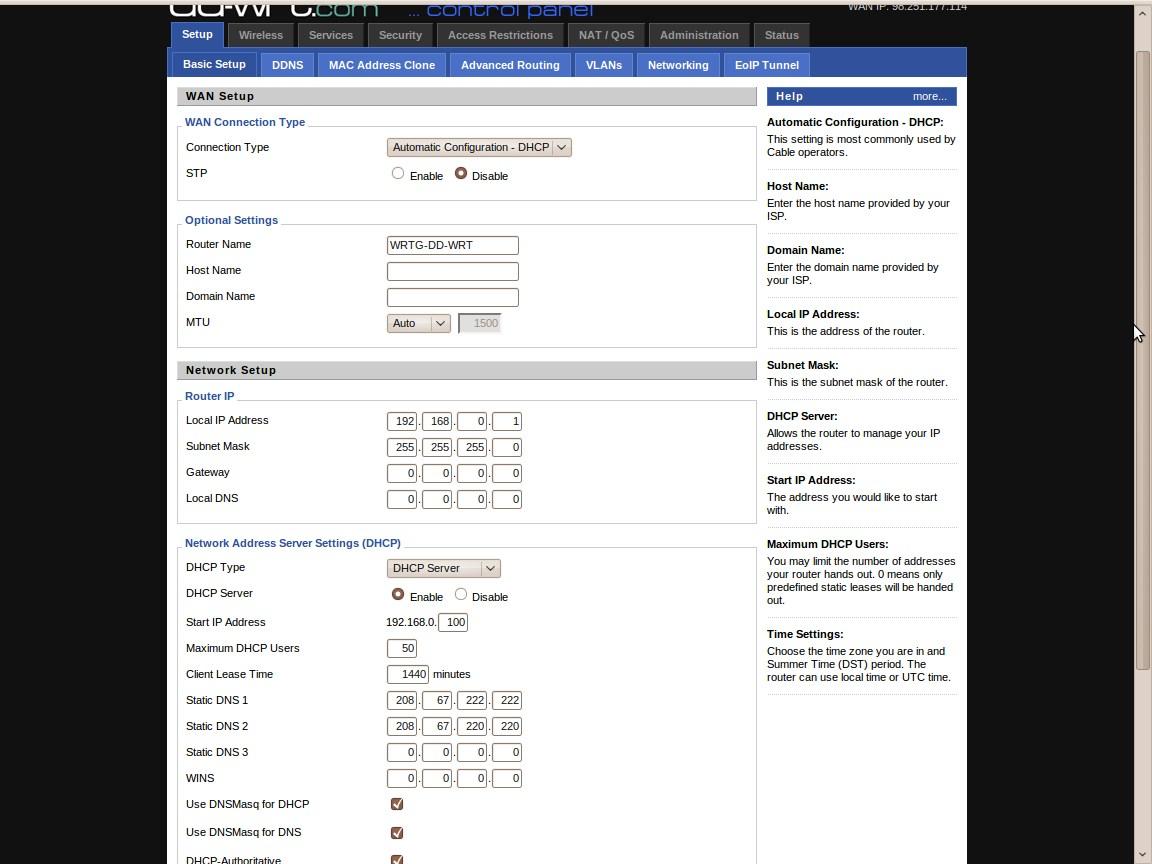 DD-WRT Forum :: View topic - Stock Dlink picks up IP camera