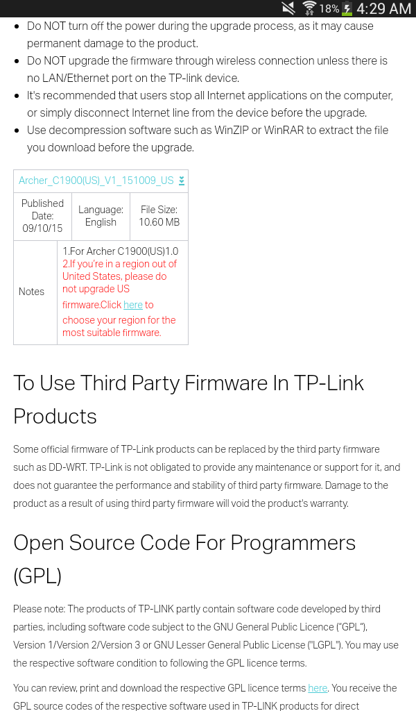 DD-WRT Forum :: View topic - TP-Link Archer C9 Thread