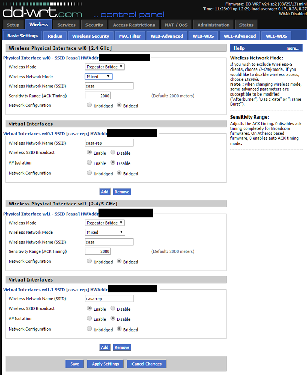 DD-WRT Forum :: View topic - Linksys E4200 as Repeater