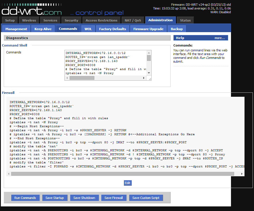 DD-WRT Forum :: View topic - Squid transparent proxy not working