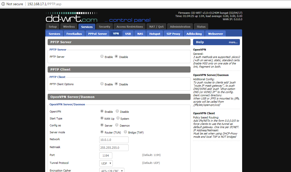 DD-WRT Forum :: View topic - How to setup openvpn server on NETGEAR