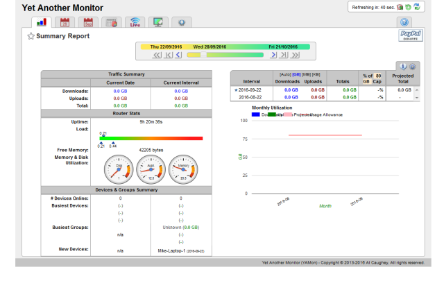 DD-WRT Forum :: View topic - YAMon 3 0    Usage Reporting by